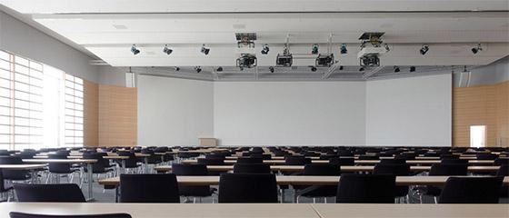 Diseño y instalaciones de equipos de video en una sala de conferencias