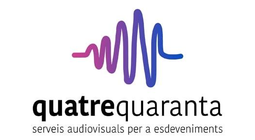 Quatre Quaranta Serveis Audiovisuals per esdeveniments