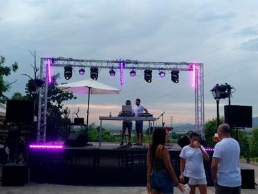 Festival de música electrónica en Sant Boi de Llobregat