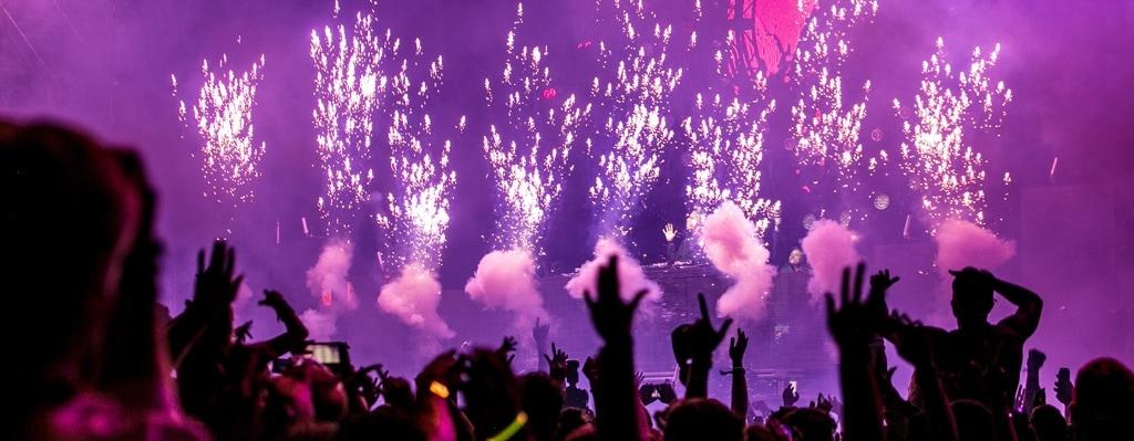 Efectes especials per concerts i festivals